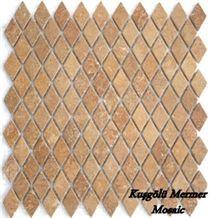 Mosaic K18, Travertine Mosaic