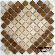 Travertine Mosaic K37