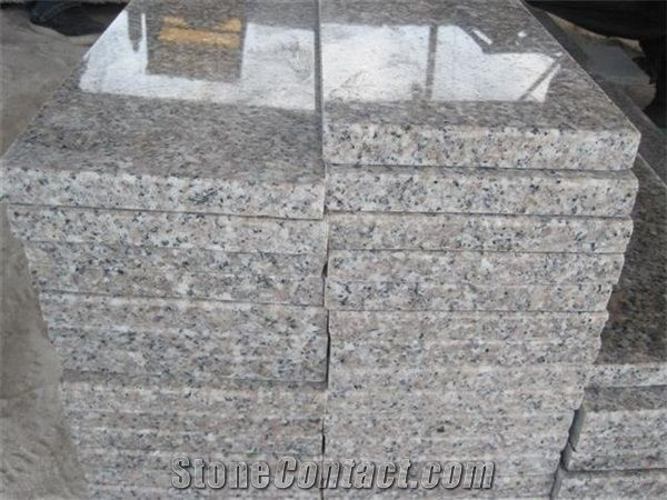 Chinese Light Grey G603 Granite Stairs Steps Silver Grey