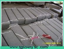 G654 China Black Granite Kerbstone