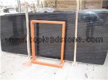 Black Wooden Marble Slabs
