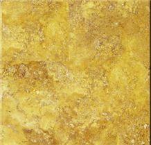 Golden Sienna Travertine Slabs & Tiles, Turkey Yellow Travertine