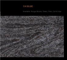 Srikakulam Blue Granite Slabs & Tiles, India Blue Granite
