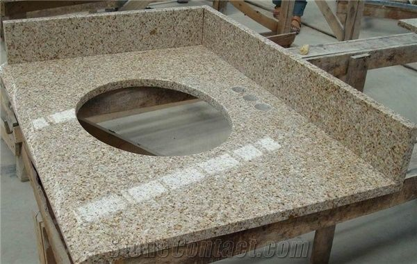 China Granite G682 Bathroom Vanity Tops