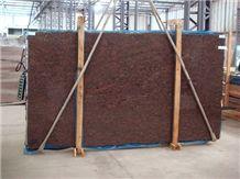 Coral Mahogany Granite Slab, Royal Mahogany Granite Slabs & Tiles