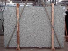 Cotton White Granite Slabs, Brazil White Granite