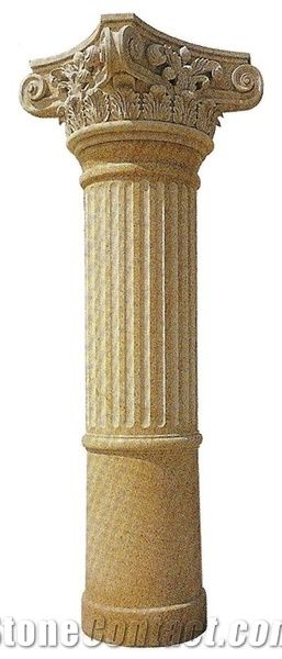 Column Pillars Marble Column Carved Stone Pillar From