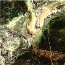 Smeralda Onyx Slabs & Tiles, Iran Green Onyx