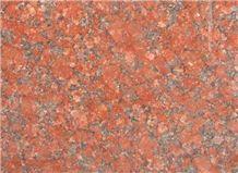 Rosso Rubino Granite Slabs & Tiles, India Red Granite