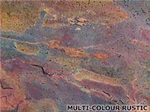 Multicolor Rustic Slate Slabs & Tiles