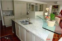 Bianco Romano Granite Kitchen Island Top