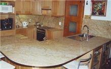 Golden Granite Kitchen Work Tops