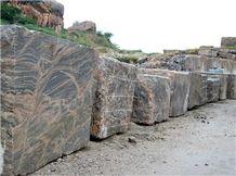 Juparana Colombo Granite Rough Blocks