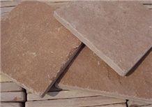 Cut - Red Sandstone Tile