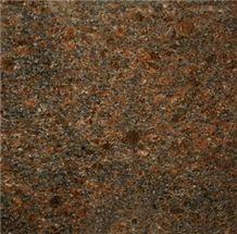 India Copper Brown Granite Slabs & Tiles