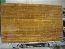 Iran Yellow Travertine Slab
