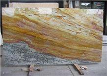 Calypso Gold Quartzite Slabs