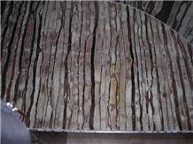 Lava Wave Onyx Slabs & Tiles, China Brown Onyx