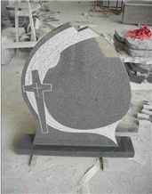 G654 Granite Headstone