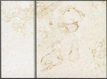 Crema Luna Limestone Slabs & Tiles, France Beige Limestone