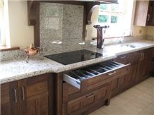 Giallo Ornamental Granite Worktop