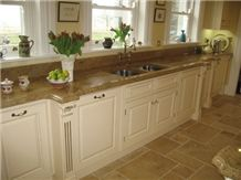 Madeira Gold Granite Countertop, Yellow Granite Countertops