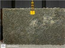 Verde Maritaca Granite Slabs, Brazil Green Granite