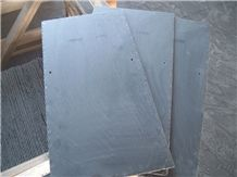 Black Slate Roofing Tile, Spain Black Slate