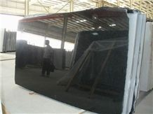 Chinese Absolute Black Granite Slab