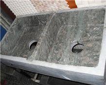 Marble Coffee Farm Sink