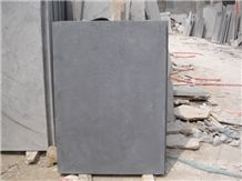 China Blue Honed Limestone Slabs & Tiles