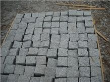 G603 Granite Cube Stone, Grey Granite Cube Stone
