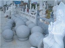 Grey Granite Carving Sculpture