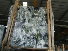 Ice Jade Green Marble Slab