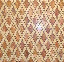 Mixed Marble Mosaic Patio Tiles,Mosaic Pattern