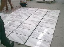 Volakas Marble Slabs & Tiles, Greece White Marble
