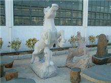 White Jade Marble Sculpture