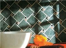 Green Marble Tumbled Wall Tile