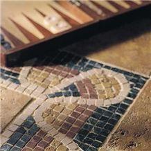 Marble Roman Wave Mosaic Borders