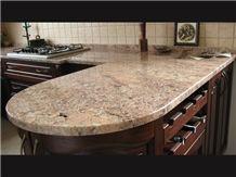 Bordeaux Salmon Granite Countertop