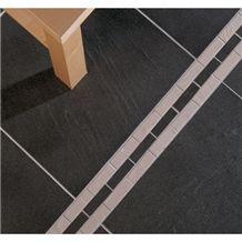 Amazon Black Slate Floor Tile
