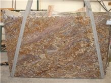Golden Typhoon Granite Slabs
