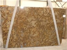 Lapidus Granite Slabs, Brazil Yellow Granite