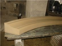 Beige Sandstone Door Frame