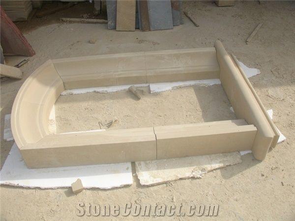 Beige Sandstone Window Frame, Sandstone Door Frames and Surround ...