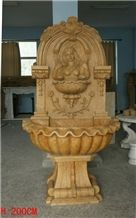 Carving Wall Fountain 022