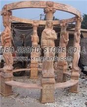 Stone Carvings Gazebo 014