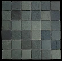 Green Slate Mosaics,china Slates