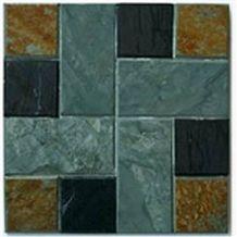 Multicolor Slate Mosaic Slates