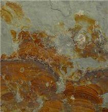Rusty Color Slate Tile